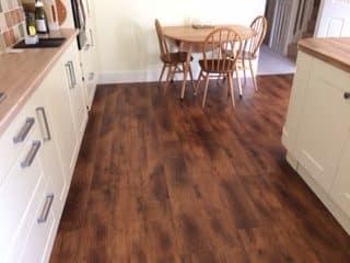 Karndean Fitted Kitchen Flooring