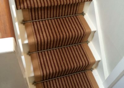 Domestic Staircase with Stairs Rod
