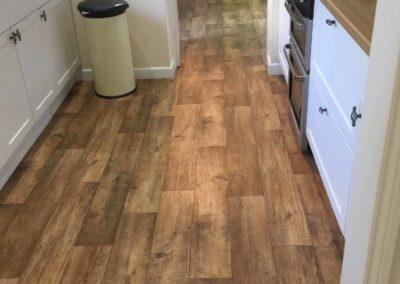 Wood Effect Kitchen Flooring