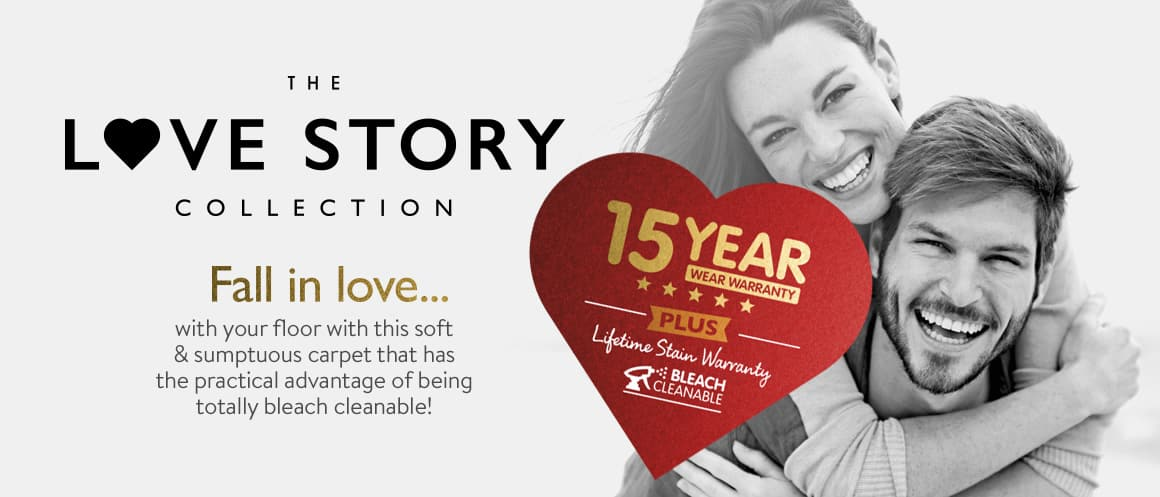 Love Story Collection Range Banner