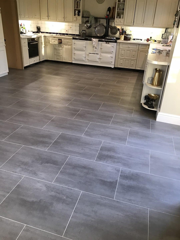 Karndean slate effect floor 1